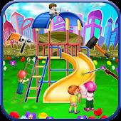 Game Kids Park Repair: Amusement Playground Builder APK for Windows Phone