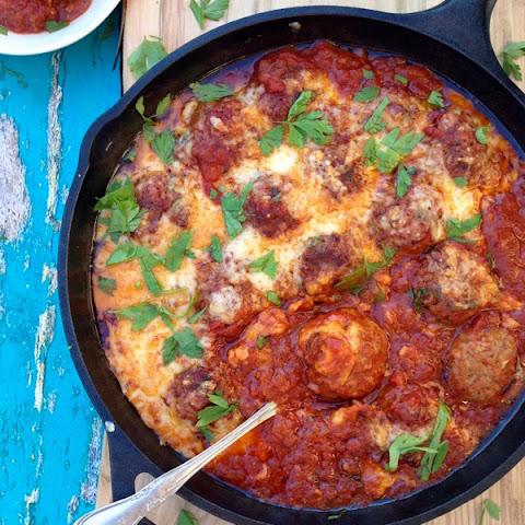 Spicy Ricotta Meatballs in Tomato Sauce Recipe | Yummly