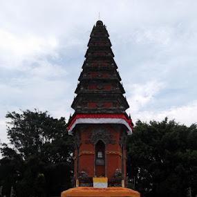 Margarana by Putu Purnawan - City,  Street & Park  Historic Districts ( bali, marga )