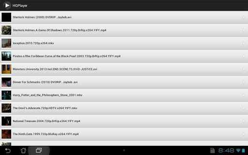 HQ Video Player - screenshot