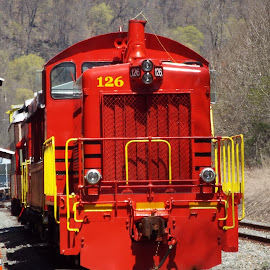 Old 126 by Amy Hepler - Transportation Trains