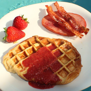 Strawberry French Toast Waffle