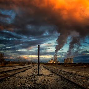 PPC  by Gregory Dallis - Landscapes Sunsets & Sunrises