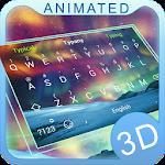 Aurora 3D Theme&Emoji Keyboard Icon