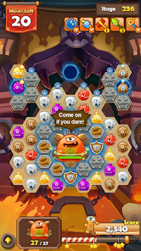 Monster Busters: Hexa Blast APK screenshot thumbnail 3