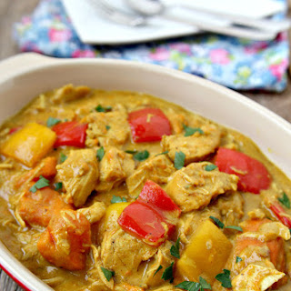 Sweet Coconut Chicken Curry Recipes