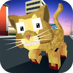 Download Blocky Cat Simulator For PC Windows and Mac