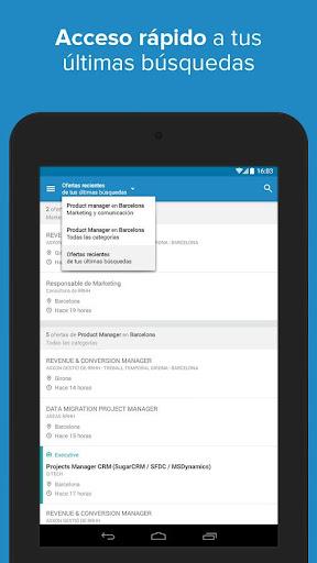 InfoJobs - Job Search screenshot 20