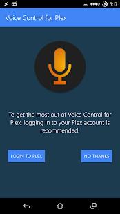 Voice Control for Plex
