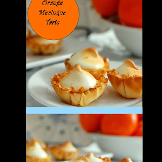 Orange Meringue Tarts