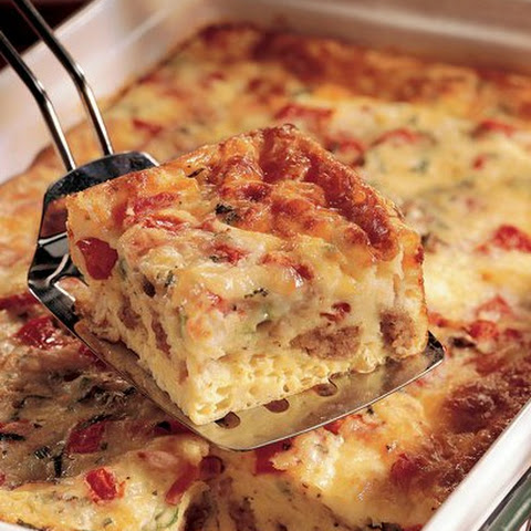 Ham Egg and Cheese Bake