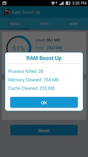Ram Boost Up - screenshot