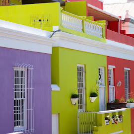 Cape Malay house if colors by Fatlum  Kastrati  - Buildings & Architecture Homes