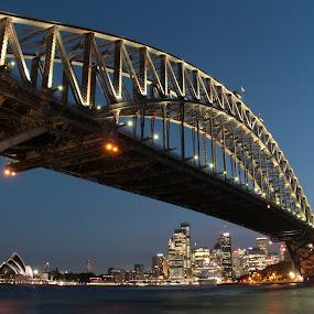 Harbour Bridge by Richard Heersmink - Buildings & Architecture Bridges & Suspended Structures