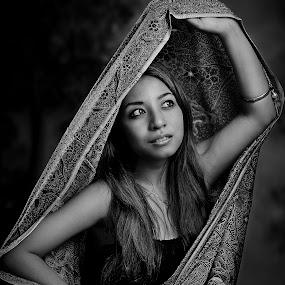 loretta# 3 by Tuty Ctramlah - People Portraits of Women