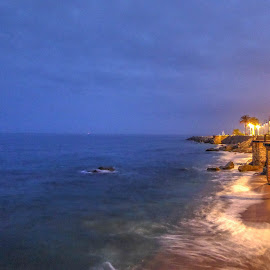 Coastline by Jose Maria Vidal Sanz - City,  Street & Park  Vistas ( sunset, colors, long exposure, coastline )