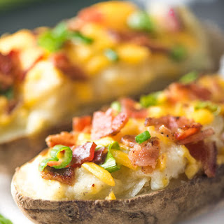 Lightened-Up Twice-Baked Potatoes