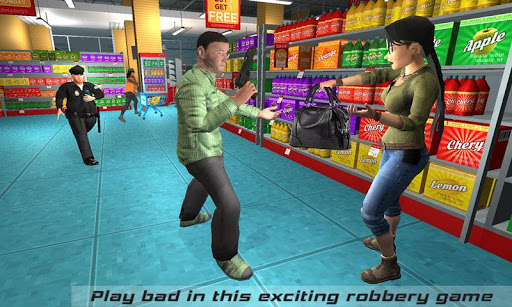 Supermarket Robbery Crime Mad City Russian Mafia For PC
