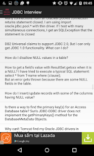 JDBC Interview questions - screenshot