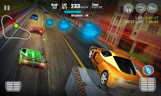 Racing in City 3D