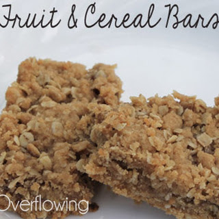 Fruit & Cereal Bars