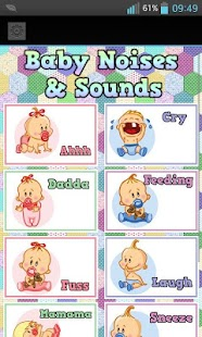 Baby Noises and Sounds - screenshot