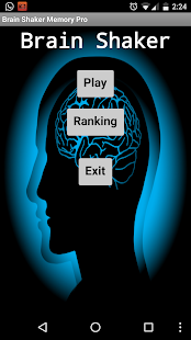 Brain Shaker Memory Pro - screenshot