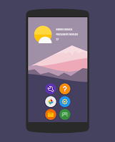 Screenshot of Naxos Flat Round Icon Pack