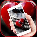 Red Heart Lock Eternal Theme