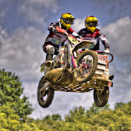 by Mike Ross - Sports & Fitness Motorsports ( 2, motocross, mike ross, milton malsor, sidecar, airborne, mx, acu )