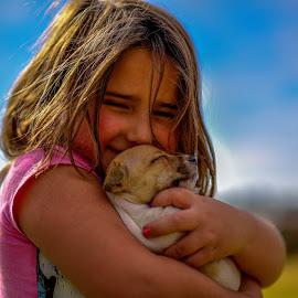 Puppy Love by Doornkop Photos Hein van Niekerk - Animals - Dogs Puppies