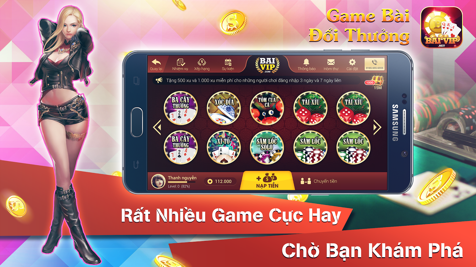 BaiVip - Game danh bai online Screenshot 10