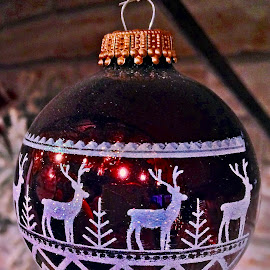 For Christmas by Dobrin Anca - Public Holidays Christmas ( tree, decoration, christmas, castle, brittany )