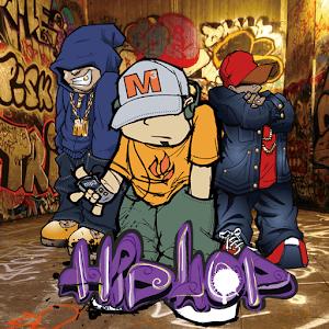 HipHop Мальчик граффити