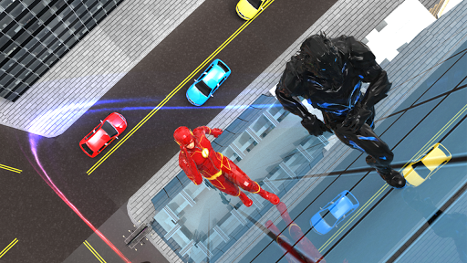 Flash Speedsters- Superhero Wall Run- flash games For PC