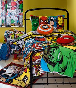 Marvel kid's bed