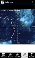 Screenshot of Météo Guadeloupe et Martinique