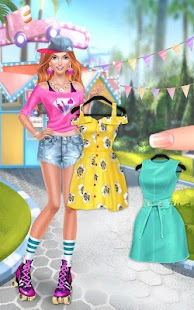 Game Roller Skate Chics: Girls Date apk for kindle fire