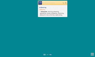 Screenshot of Collins Essential Thesaurus TR