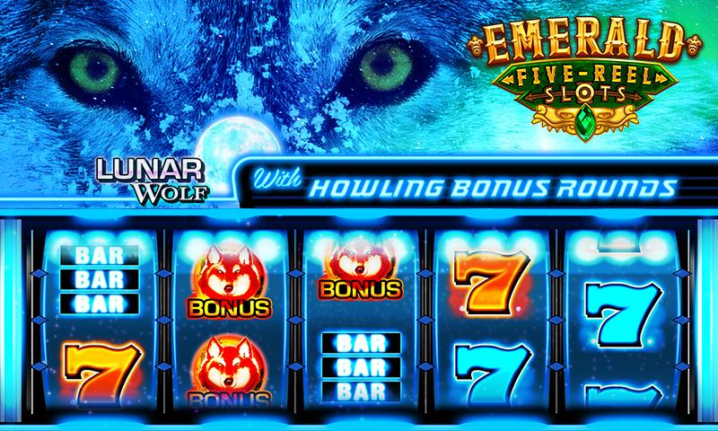 Emerald 5-Reel Free Slots Screenshot