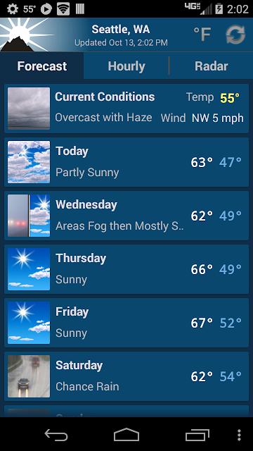 NOAA Weather Unofficial (Pro) screenshots