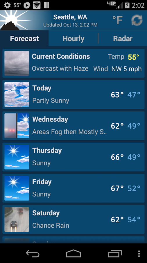 NOAA Weather Unofficial (Pro) Screenshot 0
