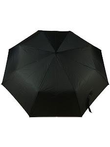 """Зонт """"Компакт S"""", черный."""