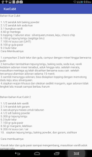 Resep kue cubit - screenshot