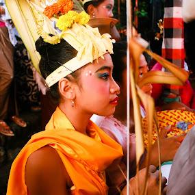 sang hyang dedari by Putu Purnawan - People Fashion ( bali, girl, tradition, dance )