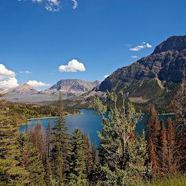 Montana Beauty  by Isabel Hernandez - Uncategorized All Uncategorized ( mountains, montana, travel, scenery, glacier national park )
