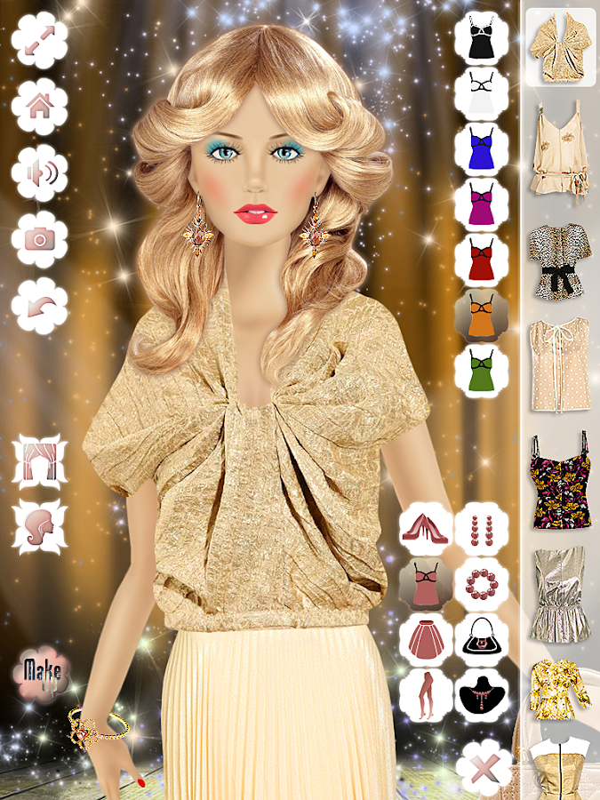Princess Doll Makeup Dressing Screenshot