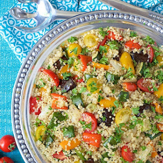 Roasted Ratatouille Quinoa Salad