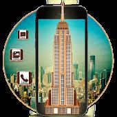 App 3D new York Empire State Building Theme APK for Windows Phone