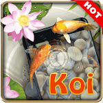 Koi pond 3D live wallpaper Icon